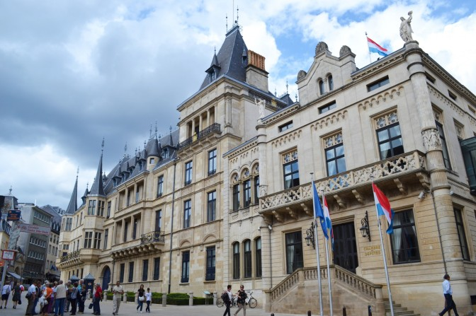 The Palais Grand Ducal of Luxembourg